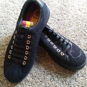 Rare L.A.M.B. Cassette Tape Shoes - Black